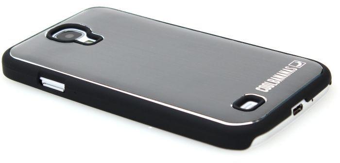Cool Bananas Hoodie für Samsung Galaxy S4 schwarz/silber