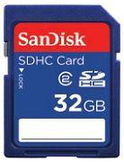 SanDisk SDHC 32GB, Class 4 (SDSDB-032G-B35)