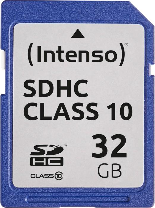 Intenso R20/W12 SDHC 32GB, Class 10 (3411480) -- (new design)
