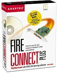 Adaptec AFW-4300A FireConnect 4300 Plus, 3x FireWire, PCI, Kit (1936800)