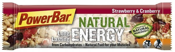 PowerBar natural Energy Cereal Strawberry & cranberry 40g