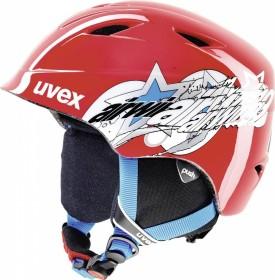 UVEX Airwing 2 Helm red star (Junior) (566132-330)