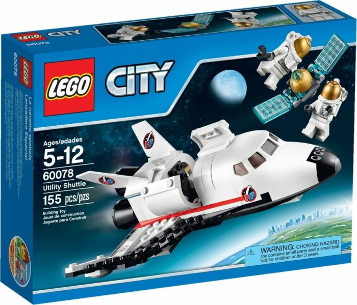 Lego City Space Utility Shuttle 60078 Starting From 6999