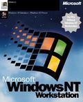 Microsoft: Windows NT 4.0 Workstation OEM/DSP/SB (German) (PC)