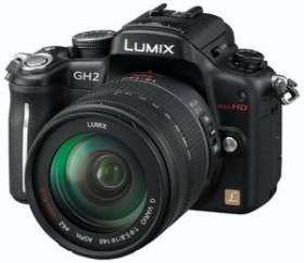 Panasonic Lumix DMC-GH2 schwarz mit Objektiv Lumix G Vario 14-140mm 4-5.8 OIS (DMC-GH2H)