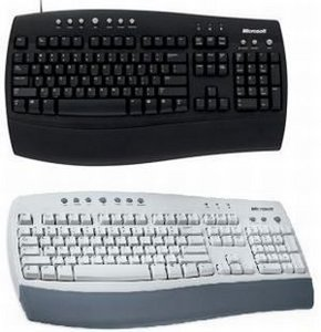 Microsoft OEM Internet Keyboard, PS/2, DE