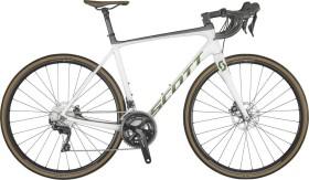 Scott Addict 20 pearl white Modell 2021 (280636)