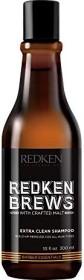 Redken Brews Extra Clean shampoo, 300ml