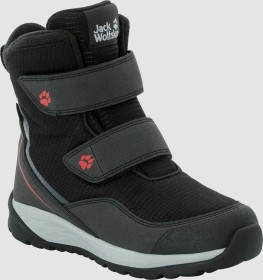Jack Wolfskin Polar Bear Texapore High VC K schwarz/rot (Junior) (4036721-6047)