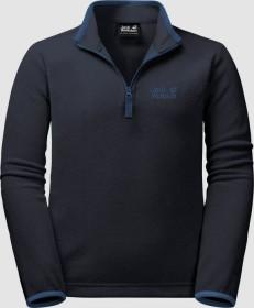 Jack Wolfskin Gecko Shirt langarm night blue (Junior) (1605552-1033)