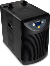 Hailea HC Series 150A Aquarienkühler schwarz, Durchlaufkühler mit Kompressor, 50-400l (HC-150A)