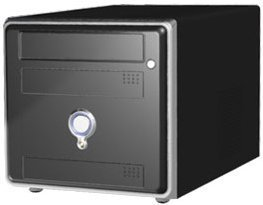 AOpen XC Cube EZ65 mini-Barebone black (socket 478/3.0GHz, dual PC3200 DDR) (95.EZ659.122)