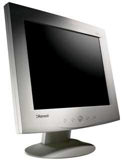 "Hansol 520F, 15"", 1024x768, analog"