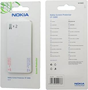 Nokia CP-5000 screen protector -- via Amazon Partnerprogramm