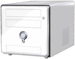 AOpen XC Cube EZ18 Mini-Barebone weiß (Sockel A/166/2.13GHz, dual PC3200 DDR)
