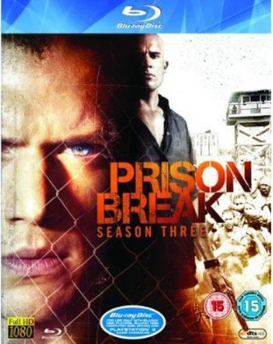 Prison Break Season 3 (Blu-ray) (UK) -- via Amazon Partnerprogramm