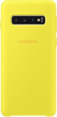Samsung Silicone Cover für Galaxy S10 gelb (EF-PG973TYEGWW)