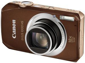 Canon cyfrowy Ixus 1000 HS brązowy (4614B008)