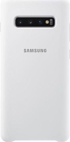Samsung Silicone Cover für Galaxy S10+ weiß (EF-PG975TWEGWW)