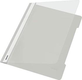 Leitz Standard Plastikhefter A4, grau, 25er-Pack (41910085#25)