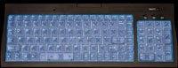 Sharkoon Luminous Keyboard II, PS/2, DE
