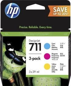 HP ink 711 CMY 3-pack (P2V32A)
