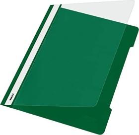 Leitz Standard Plastikhefter A4, grün, 25er-Pack (41910055#25)