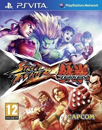 Street Fighter X Tekken (English) (PSVita)