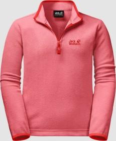 Jack Wolfskin Gecko Shirt langarm coral pink (Junior) (1605552-2172)
