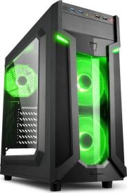 Sharkoon VG6-W grün, Acrylfenster