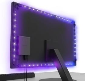 "NZXT HUE 2 Ambient Lightning kit, LED controller for 21""-26"" Monitors, black, RGB-light set (AC-HUEHU-A1)"