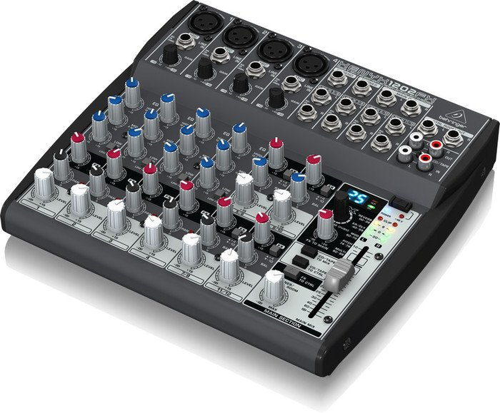 Behringer Xenyx 1202FX analog mixer -- © Copyright 200x, Behringer International GmbH