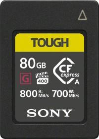 Sony TOUGH CEA-G Series R800/W700 CFexpress Type A 80GB (CEA-G80T)