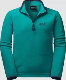 Jack Wolfskin Gecko Shirt langarm green ocean (Junior) (1605552-4094)