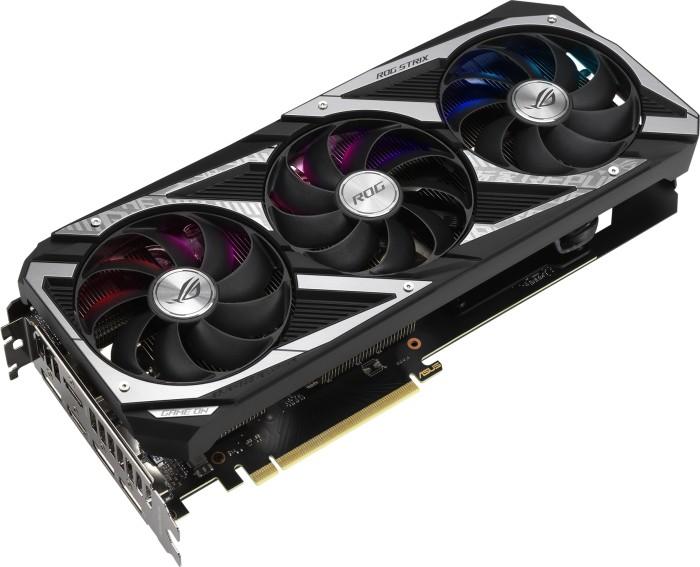 Bild von ASUS ROG Strix GeForce RTX 3060 V2 OC, ROG-STRIX-RTX3060-O12G-V2-GAMING, 12GB GDDR6, 2x HDMI, 3x DP (90YV0GC2-M0NA10)