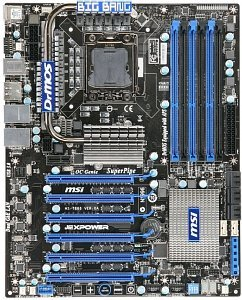 MSI Big Bang-XPOWER, X58 (triple PC3-10667U DDR3) (7666-010R)