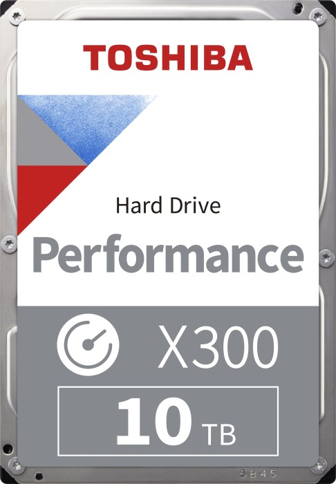 Toshiba X300 Performance 10TB, SATA 6Gb/s, bulk (HDWR11AUZSVA)