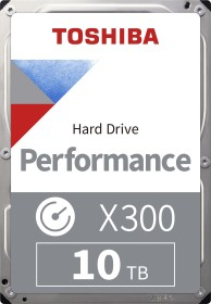 Toshiba X300 Performance 10TB, SATA 6Gb/s, retail (HDWR11AXZSTA / HDWR11AEZSTA)