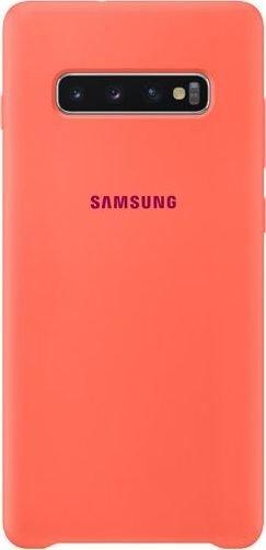 Samsung Silicone Cover für Galaxy S10+ pink (EF-PG975THEGWW)