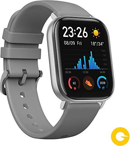 Huami Amazfit GTS Lava Grey -- via Amazon Partnerprogramm