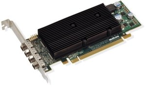 Matrox M9148 LP, 1GB DDR2, 4x Mini DisplayPort, low profile (M9148-E1024LAF)