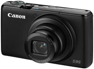 Canon PowerShot S95 schwarz (4343B011)