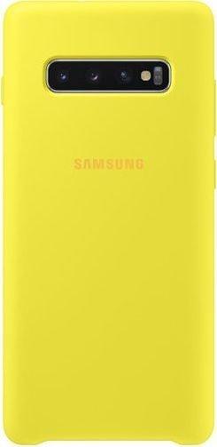 Samsung Silicone Cover für Galaxy S10+ gelb (EF-PG975TYEGWW)