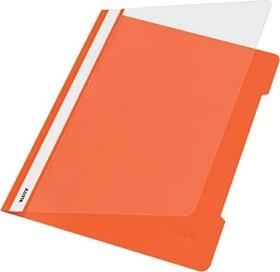 Leitz Standard Plastikhefter A4, orange, 25er-Pack (41910045#25)