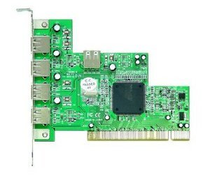Longshine LCS-8033H-USB, 4x USB 2.0, PCI