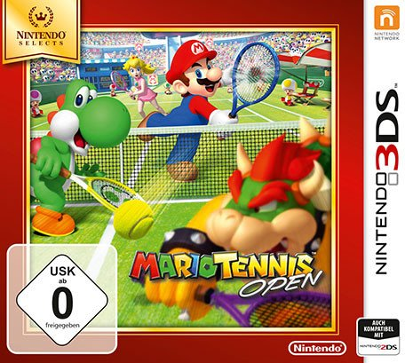 Mario tennis Open (German) (3DS)