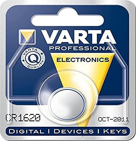 Varta CR1620, Lithium, 3V (6620-101-401) -- via Amazon Partnerprogramm
