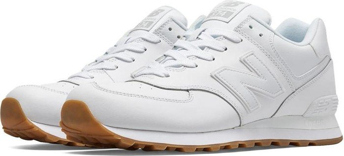 quality design b7685 4d8f5 New Balance 574 Leather weiß ab € 48,00