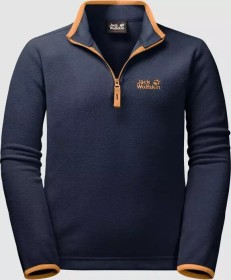 Jack Wolfskin Gecko Shirt langarm midnight blue (Junior) (1605552-1910)