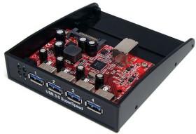 "StarTech 35BAYUSB3S4, 5.25"", multifunctional frontpanel"